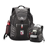 High Sierra Big Wig Black Compu Backpack-Kansas City Barbeque Society