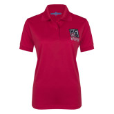 Kansas City Barbeque Society Ladies Red Certified Barbeque Judge Polo-