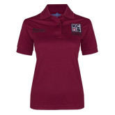 Kansas City Barbeque Society Ladies Burgundy Master BBQ Judge Polo-