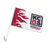 Kansas City Barbeque Society Car Flag-