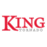 Large Decal-King Tornado, 12 in wide