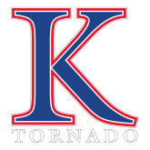 Large Decal-K Tornado, 12 in Tall