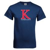 Navy T Shirt-K Tornado
