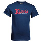 Navy T Shirt-King Tornado