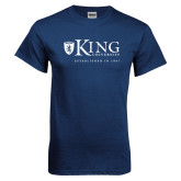 Navy T Shirt-King University