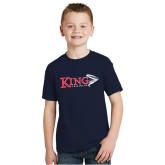 Youth Navy T Shirt-Triathlon