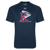 Under Armour Navy Tech Tee-Wrestling