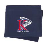 Navy Sweatshirt Blanket-K Tornado w/Tornado