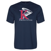 Syntrel Performance Navy Tee-Wrestling