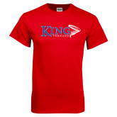 Red T Shirt-King Tornado w/Tornado