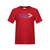 Youth Red T Shirt-King Tornado w/Tornado