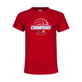 Youth Red T Shirt-2018 Mens Volleyball Champions