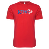 Next Level SoftStyle Red T Shirt-King Tornado w/Tornado