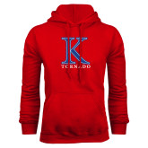 Red Fleece Hoodie-K Tornado