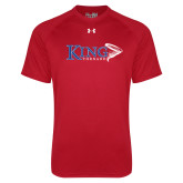 Under Armour Red Tech Tee-King Tornado w/Tornado