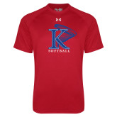 Under Armour Red Tech Tee-Tornado Athletic Club
