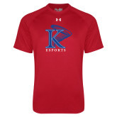 Under Armour Red Tech Tee-ESports Vertical