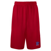 Syntrel Performance Red 9 Inch Length Shorts-K Tornado w/Tornado
