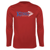 Performance Red Longsleeve Shirt-ESports