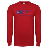 Red Long Sleeve T Shirt-King University