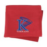 Red Sweatshirt Blanket-K Tornado w/Tornado