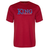Syntrel Performance Red Tee-King Tornado