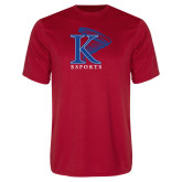 Performance Red Tee-ESports Vertical