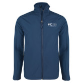 Navy Softshell Jacket-King University