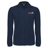 Fleece Full Zip Navy Jacket-King Tornado w/Tornado