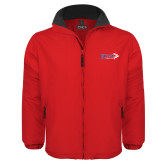 Red Survivor Jacket-King Tornado w/Tornado