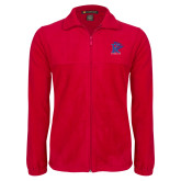 Fleece Full Zip Red Jacket-K Tornado w/Tornado