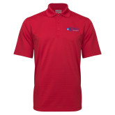 Red Mini Stripe Polo-King University