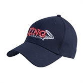 Navy Heavyweight Twill Pro Style Hat-King Tornado w/Tornado