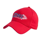 Red Heavyweight Twill Pro Style Hat-King Tornado w/Tornado