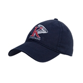 Navy Twill Unstructured Low Profile Hat-K Tornado w/Tornado