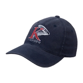 Navy OttoFlex Unstructured Low Profile Hat-K Tornado w/Tornado