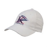White OttoFlex Unstructured Low Profile Hat-K Tornado w/Tornado