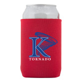 Collapsible Red Can Holder-K Tornado w/Tornado