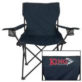 Deluxe Navy Captains Chair-King Tornado w/Tornado