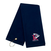 Navy Golf Towel-K Tornado w/Tornado