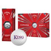 Callaway Chrome Soft Golf Balls 12/pkg-King Tornado