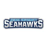 Medium Decal-Keiser University Seahawks, 8 inches wide