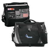 Slope Black/Grey Compu Messenger Bag-Primary Logo
