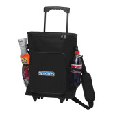 30 Can Black Rolling Cooler Bag-Keiser University Seahawks