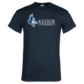 Navy T Shirt-Institutional Logo