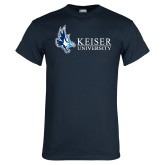 Navy T Shirt-Institutional Logo