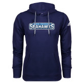 Adidas Climawarm Navy Team Issue Hoodie-Keiser University Seahawks
