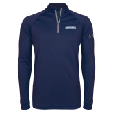 Under Armour Navy Tech 1/4 Zip Performance Shirt-Keiser University Seahawks