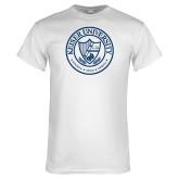 White T Shirt-University Seal