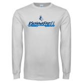 White Long Sleeve T Shirt-#SeahawkFast